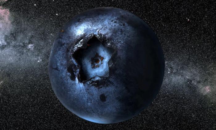 Что будет, если Земля превратится шар из голубики