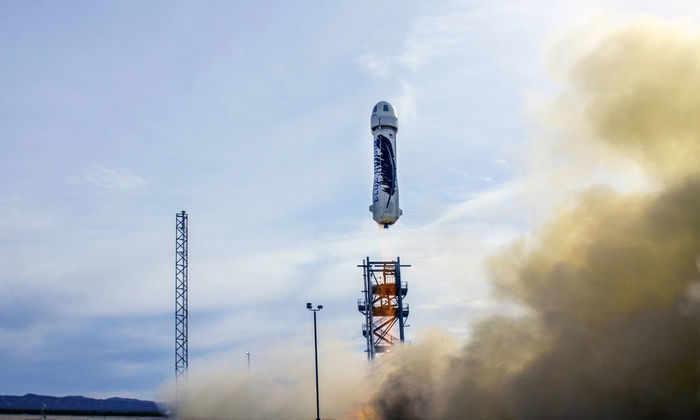Запуск Blue Origin отложили из-за негерметичных уплотнительных колец