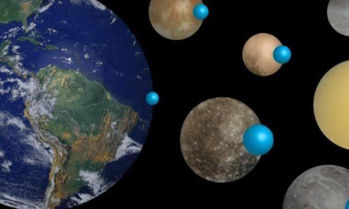 Ученые сравнили размеры мировых океанов на разных планетах