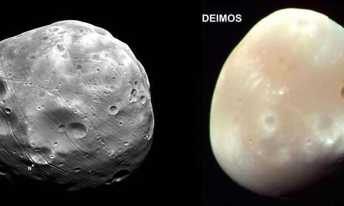 Фобос и Деймос могут оказаться результатом столкновения с «Плутоном»