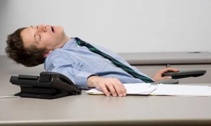 Спящий работник