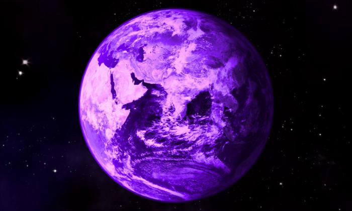 Фиолетовая Земля