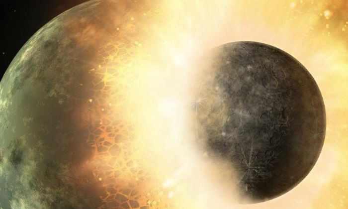Новая гипотеза: Луна образовалась совсем не так, как мы думали раньше?