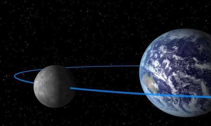 Выдвинута новая теория о том, как Луна оказалась на своем месте