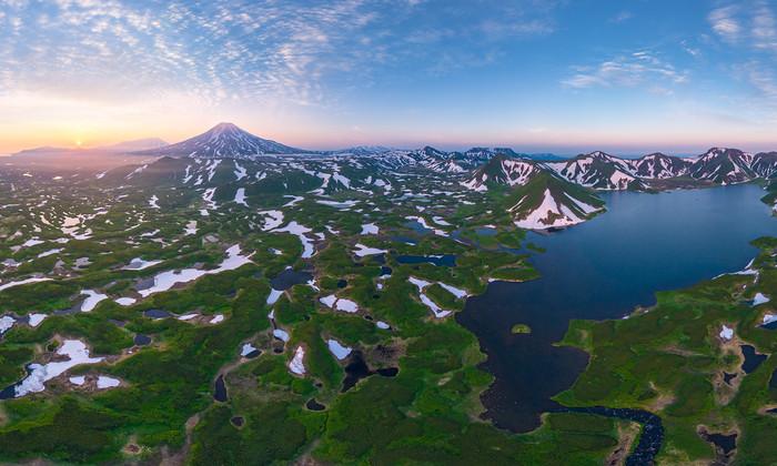 На Камчатке неожиданно начал извергаться неактивный более 200 лет вулкан