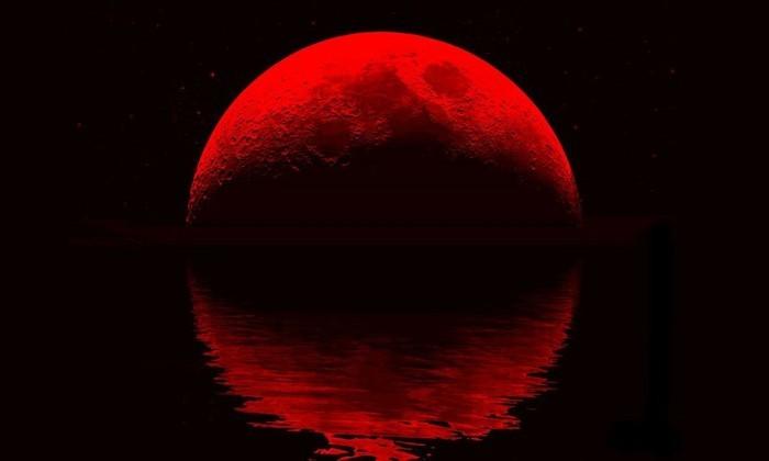 7 августа Луна покраснеет. Все из-за Земли