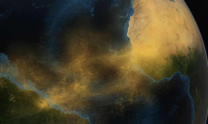 Ученые исследовали выбросы сахарского песка в атмосферу
