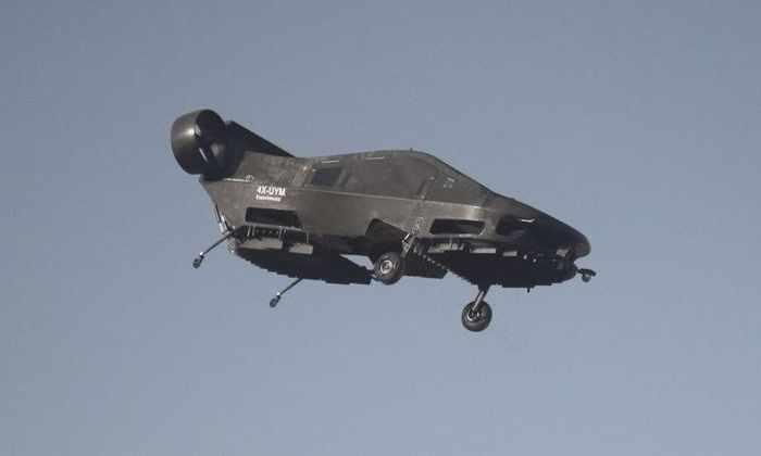 Самоуправляемое летающее такси совершило первый полет