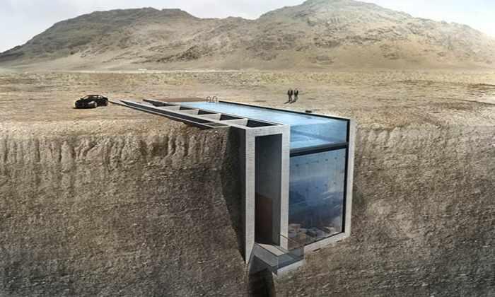 Видео: дом, построенный внутри скалы