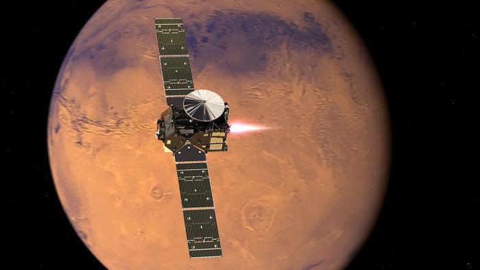 Зонд MRO не увидел признаков жизни в зоне падения «Скиапарелли»