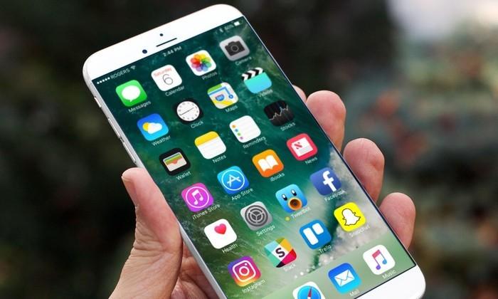 Примерно так выглядит iPhone 8