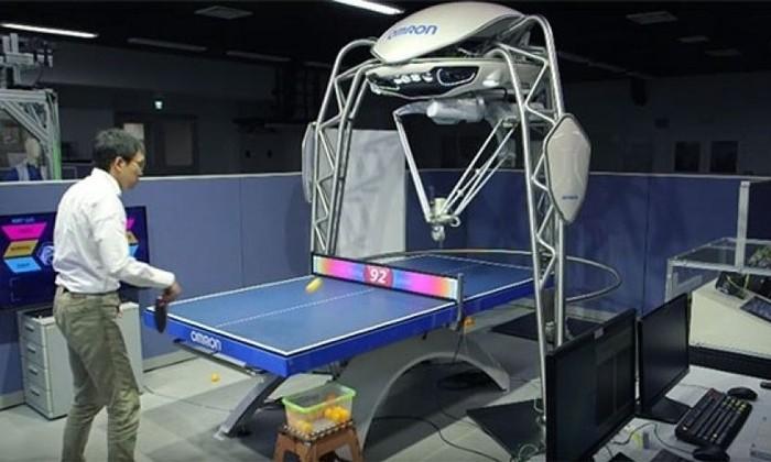 Играющий в пинг-понг робот попал в Книгу рекордов Гиннесса