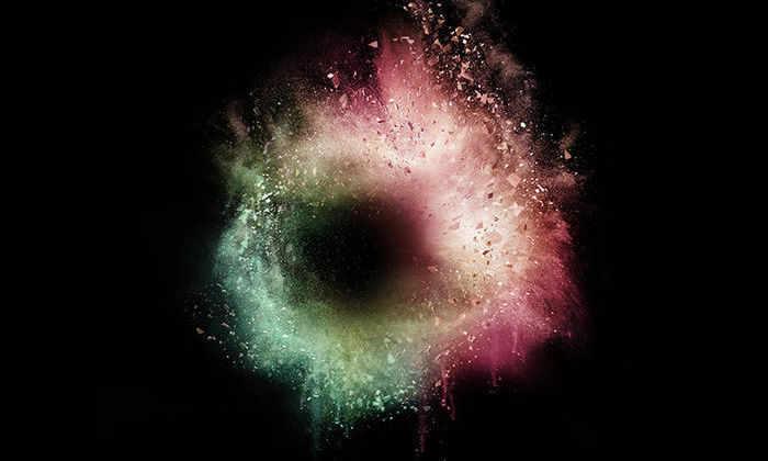 Конец Вселенной в представлении художника