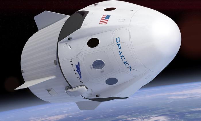 Dragon сел в Тихом океане после месячного пребывания на МКС