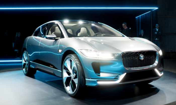 Jaguar представил свой первый электрический автомобиль