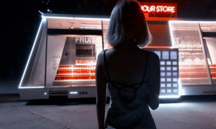 Беспилотный магазин заработал в Шанхае. Сам запасается товаром, сам продает