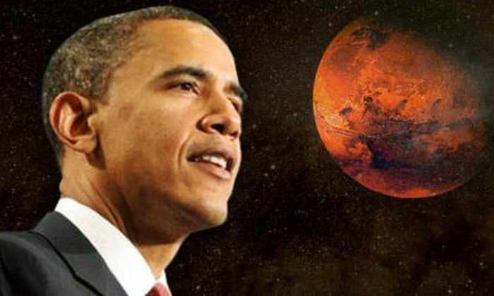 Барак Обама: Америка отправит людей на Марс в 2030-х