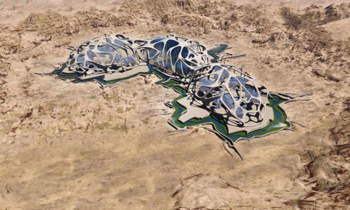 Прототип марсианского города создадут в американской пустыне