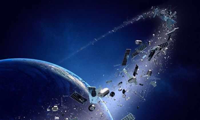 Космический объект врезался в спутник на скорости более 40 000 км/час