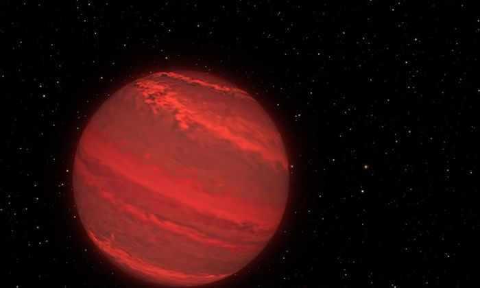 Экзопланета в представлении художника