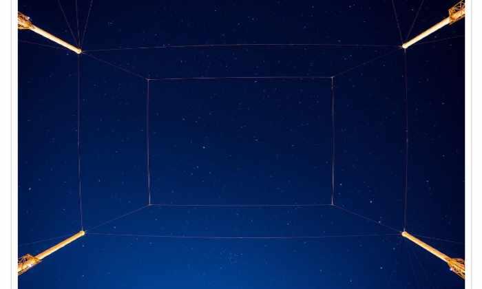 Вид над стартовой площадкой SpaceX завораживает