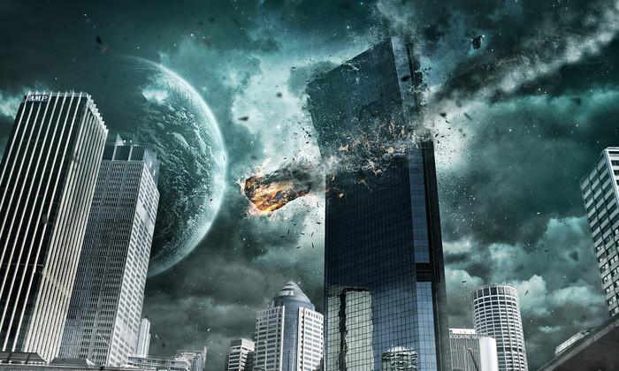 Ученые смоделировали падение астероида на Москву