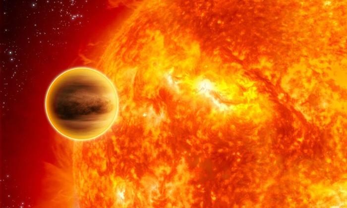 Ад наяву: обнаружена самая горячая планета во Вселенной