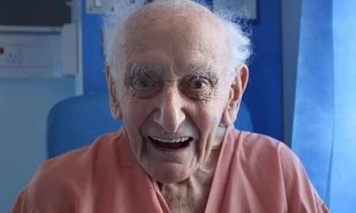 99-летний англичанин в третий раз одолел рак