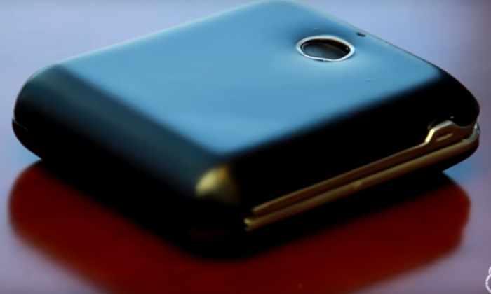 Видео: смарт-кошелек открывается только после сканирования отпечатков пальцев