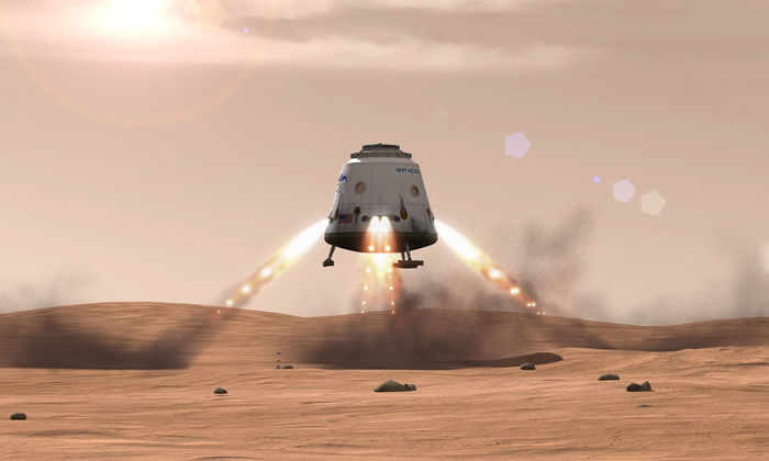 SpaceX отправит корабль на Марс до 2018 года