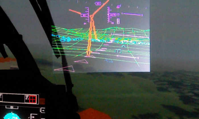 Дополненная реальность позволит вертолетам летать в условиях плохой видимости