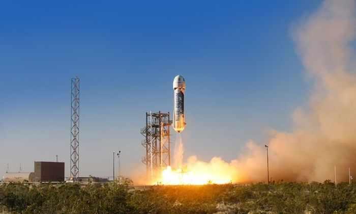 Blue Origin провела успешные испытания системы эвакуации экипажа