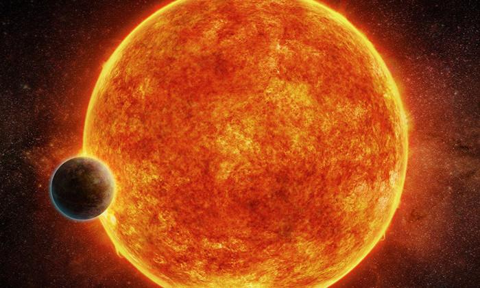 Экзопланета LHS 1140b и звезда LHS 1140