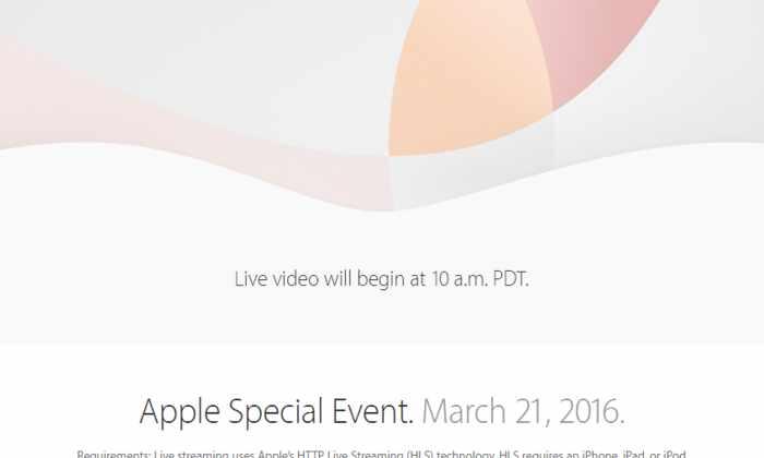 Онлайн презентация новых гаджетов от Apple