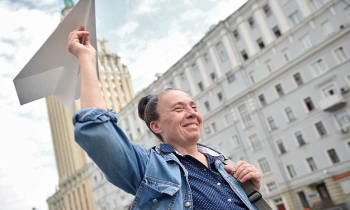 Как в Москве прошел митинг в поддержку заблокированного Telegram
