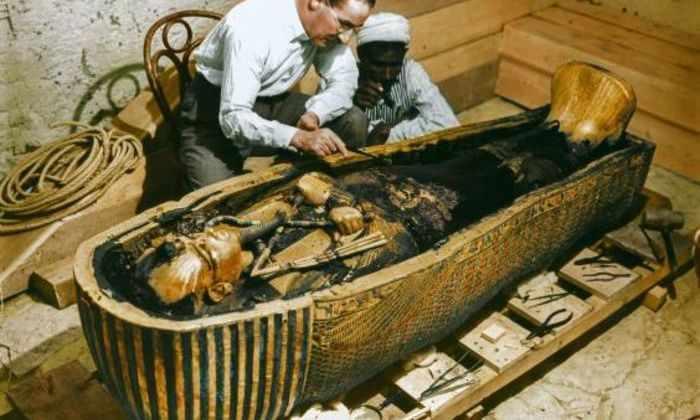 Археологи более подробно просканировали секретные комнаты в гробнице Тутанхамона