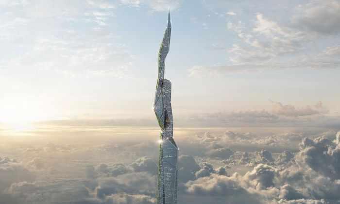 Американские инженеры построят 4,8-километровый небоскреб. Он будет поглощать смог