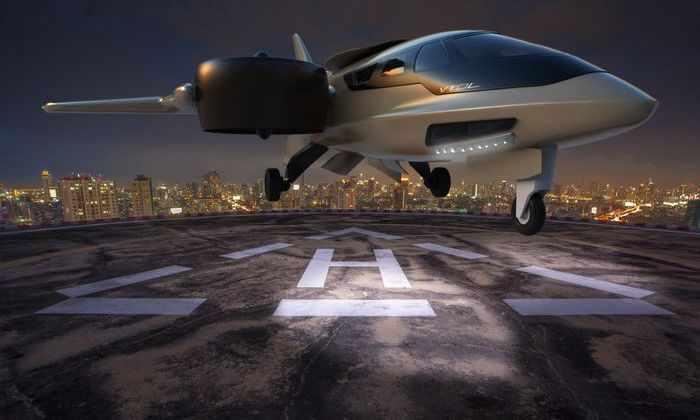 Футуристичный джет взял лучшее от самолета и вертолета