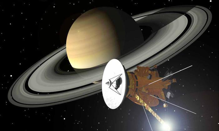 Фото дня: «Кассини» сделал самый близкий снимок атмосферы Сатурна