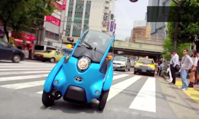 Видео: Toyota сделала гибрид машины и мотоцикла