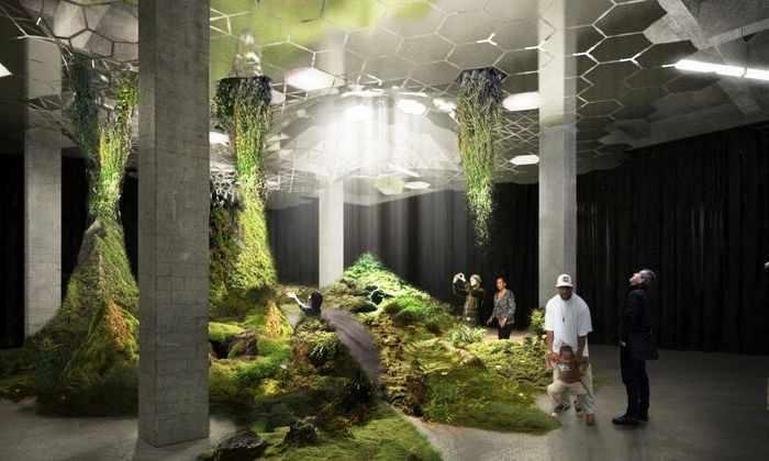 Первый подземный парк появится в Нью-Йорке
