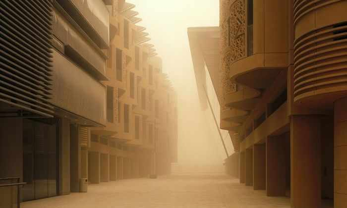 В Аравийской пустыне строят футуристичный эко-город