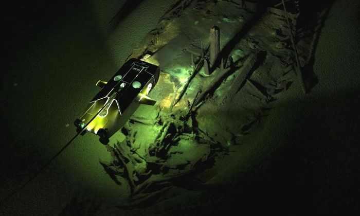 На дне Черного моря нашли одновременно более 40 затонувших кораблей