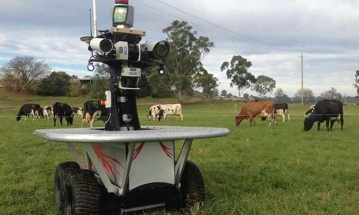 Робот-фермер проконтролирует здоровье и самочувствие домашних животных