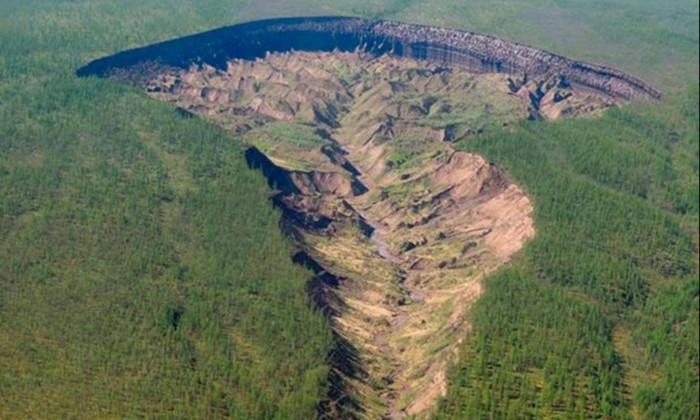 В сибирском кратере обнаружили прогноз погоды 200 000-летней давности