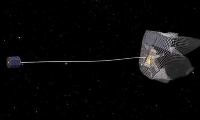 В 2023 году на околоземную орбиту запустят космического уборщика