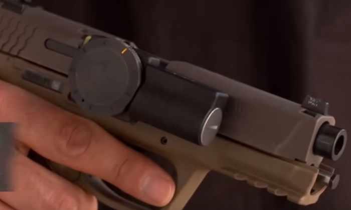 Видео: хочешь выстрелить - введи PIN-код