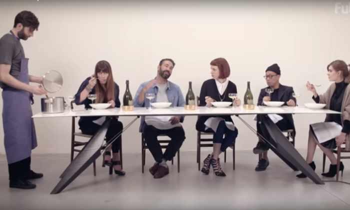 Видео: стол, который сохраняет еду теплой, а напитки охлажденными