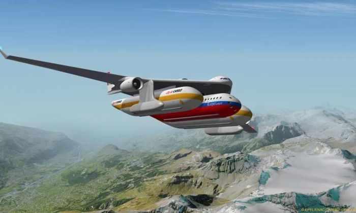 Огромные модульные самолеты - будущее авиаперелетов