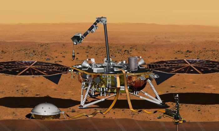 NASA переносит запуск неисправного марсианского зонда на 2018 год